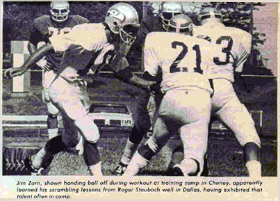Scanned from Pro Football West, 1976