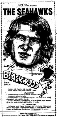 Blackwood Mini Poster Scanned from Seattle-PI Newspaper Archives