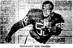 Don Hansen Scanned from Seattle-PI Newspaper Archives