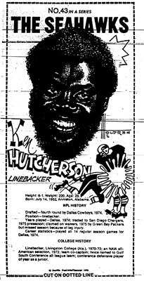 Hutcherson Mini Poster Scanned from Seattle-PI Newspaper Archives