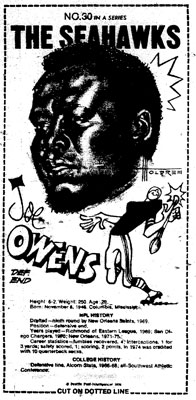 Owens Mini Poster Scanned from Seattle-PI Newspaper Archives