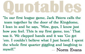 Norm Evans on Jack Patera