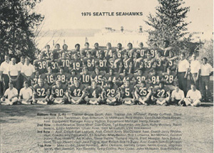 1976 Seahawks team