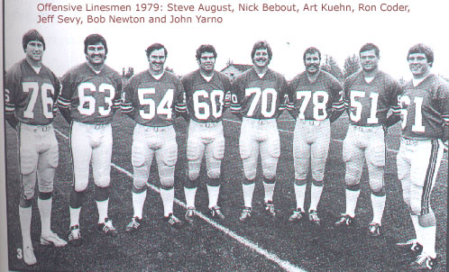 Steve August, Nick Bebout, Art Kuehn, Ron Coder, Jeff Sevy, Bob Newton, John Yarno