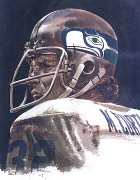 Photo scanned from Inside the Seahawks magazine