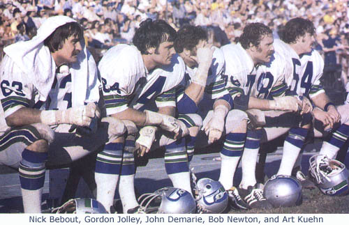 Seahawks 1976 Players