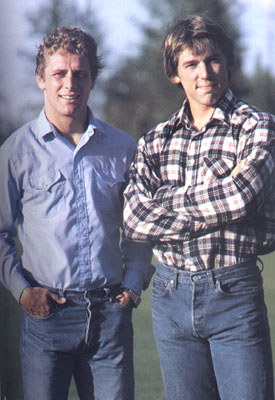 Steve Largent and Jim Zorn